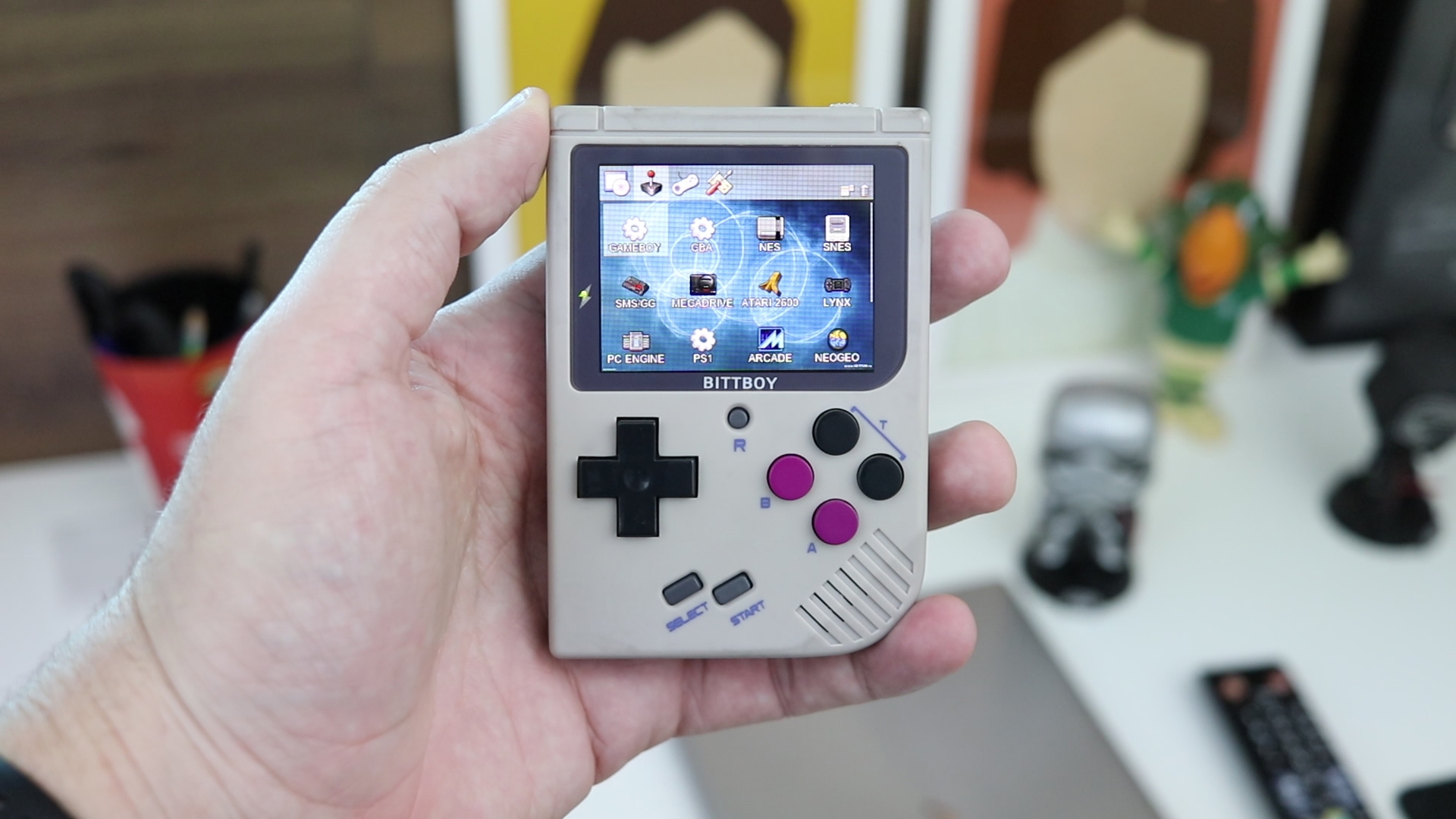 Is this tiny handheld any good? BittBoy V3 Review – R-Reviews